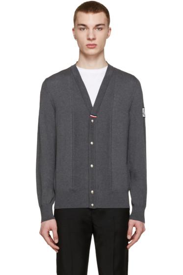 Moncler Gamme Bleu - Grey Knit Cardigan