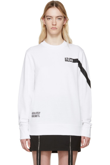 Hood by Air - White Nothing Pullover