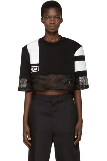 Hood by Air - Black & White Nothingness T-Shirt