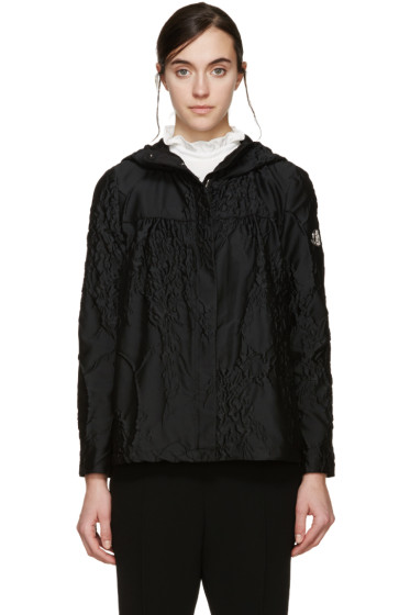 Moncler Gamme Rouge - Black Lily Of The Valley Jacket