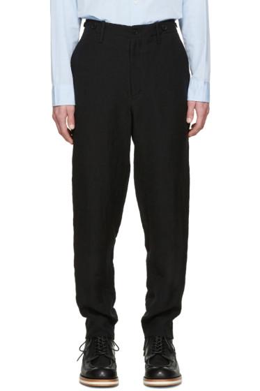 Yohji Yamamoto - Black Linen Trousers