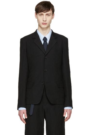 Yohji Yamamoto - Black Linen Blazer