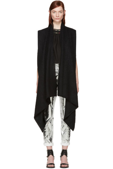 Isabel Marant - Black Alpaca Felicia Vest