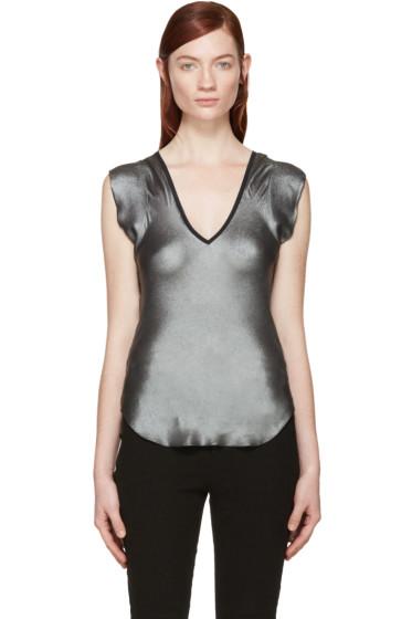 Isabel Marant - Silver Zakah Tank Top