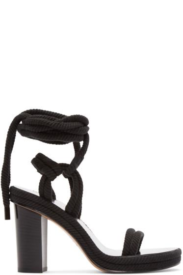 Isabel Marant - Black Rope Macylli Sandals