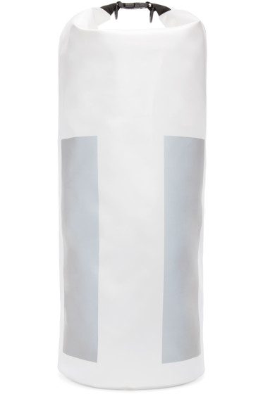 11 by Boris Bidjan Saberi - White Reflective 35L X-Plorer Backpack