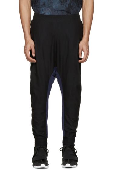 11 by Boris Bidjan Saberi - Black & Blue Knit Lounge Pants