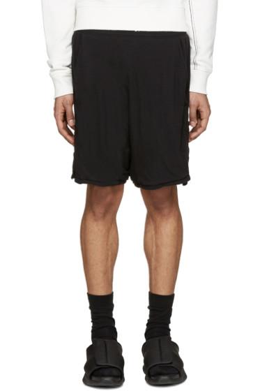11 by Boris Bidjan Saberi - Black Jersey Shorts