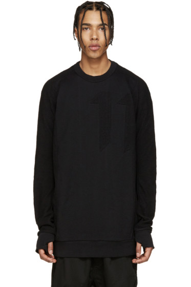 11 by Boris Bidjan Saberi - Black Block Crewneck