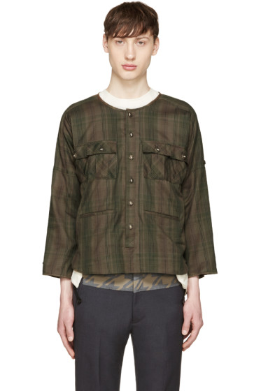 Blackmeans - Green Check Shirt