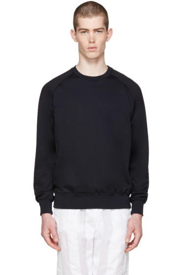 Undecorated Man - Navy Raglan Pullover