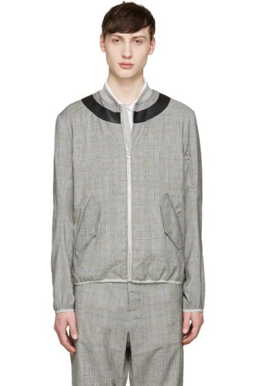 OAMC - Grey Glen Plaid Jacket