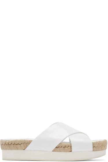 Flamingos - White Delano Sandals