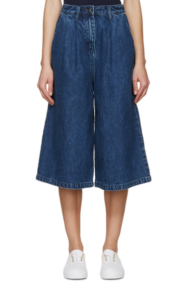 Edit - Indigo Denim Culottes
