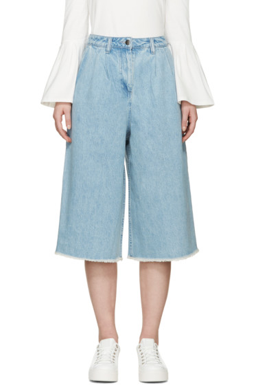 Edit - Blue Denim Culottes