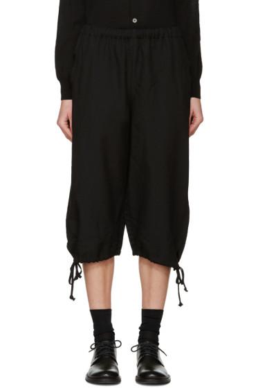 Comme des Garçons Girl - Black Drawstring Trousers