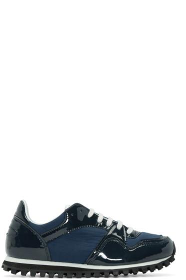Comme des Garçons Comme des Garçons - Navy Spalwart Edition Sneakers