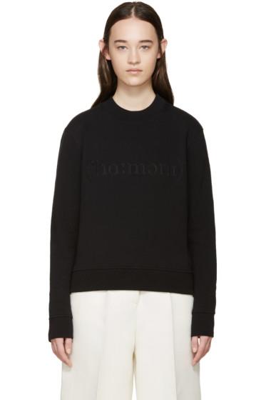 Harmony - Black Logo Pullover