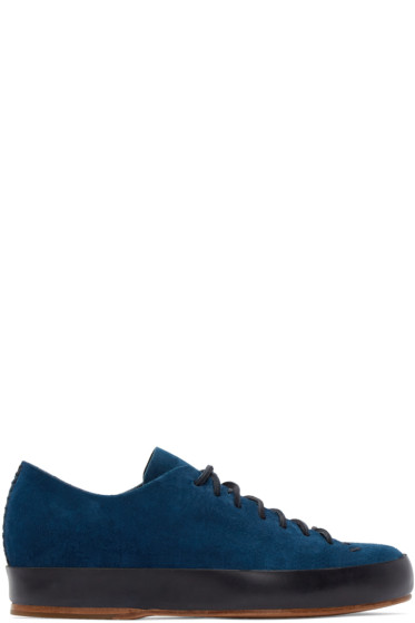 Feit - Navy Hand Sewn Sneakers