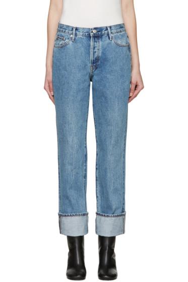 Earnest Sewn - Blue Boyfriend Celine Jeans