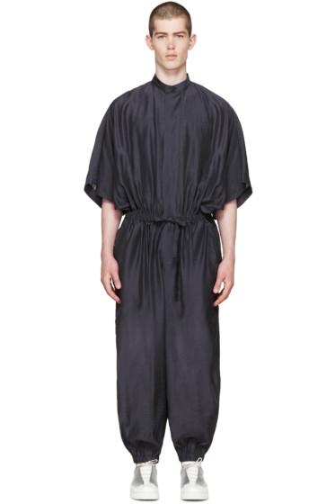 Issey Miyake Men - Dark Navy Jumpsuit