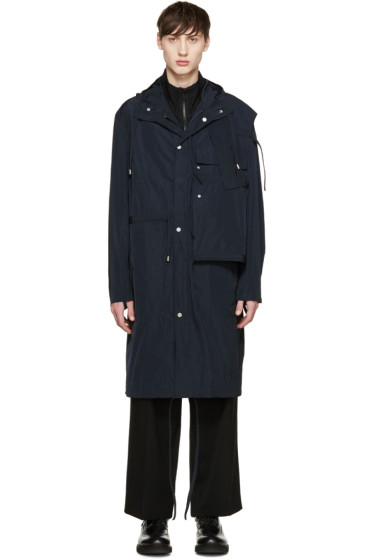 Craig Green - Navy Workwear Shell Anorak