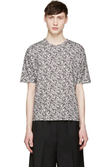 Stephan Schneider - Grey Crescent Flag T-Shirt