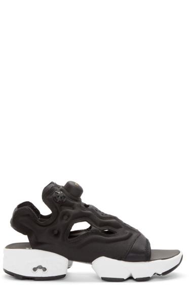 Reebok Classics - Black InstaPump Fury Sandals