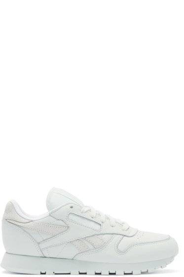 Reebok Classics - Green Leather Spirit FACE Stockholm Edition Sneakers