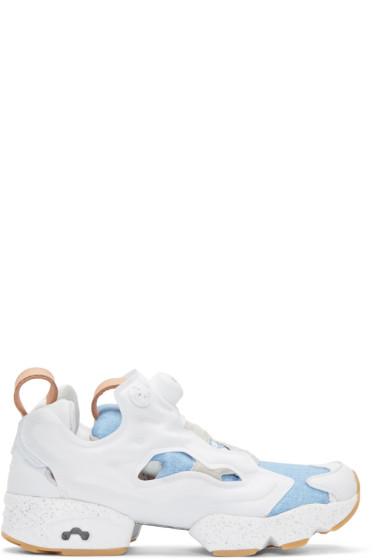 Reebok Classics - White Joyrich Edition Instapump Fury Sneakers