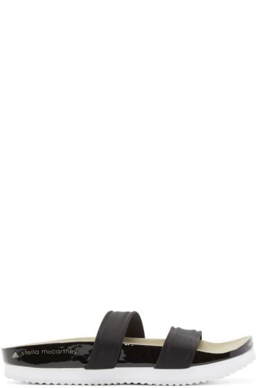 adidas by Stella McCartney - Black Neoprene Diadophis Sandals