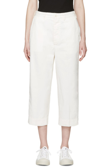 Chimala - Off-White Officer's Chinos