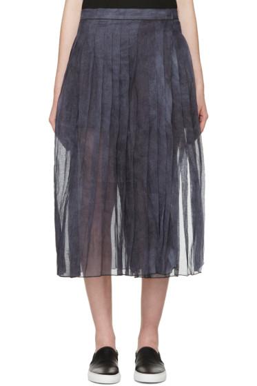 Sara Lanzi - Blue & Purple Organza Skirt