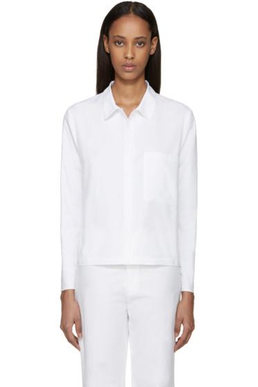Sara Lanzi - White Pocket Shirt
