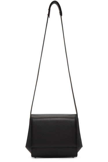 Tsatsas - Black Leather Turin Shoulder Bag