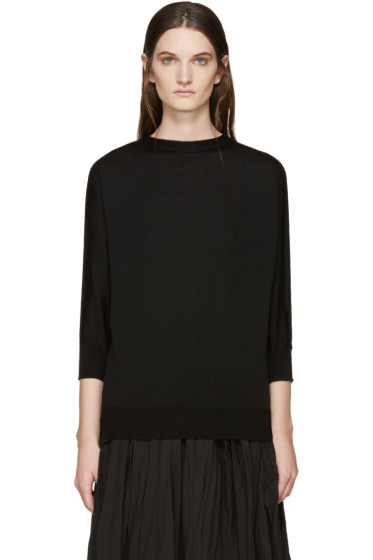 Tricot Comme des Garçons - Black Wool Sweater