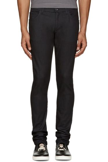 Dolce & Gabbana - Black Super Slim Jeans