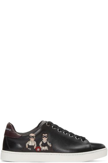 Dolce & Gabbana - Black Designers Sneakers