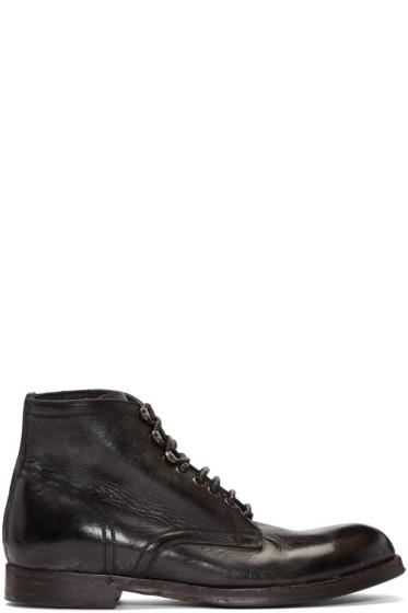 Dolce & Gabbana - Black Leather Boots