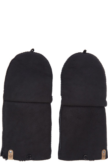 Mackage - Black Lennon Convertible Gloves