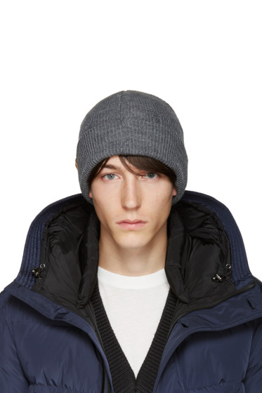 Mackage - Grey Wool Taz Beanie