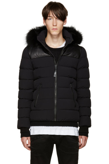 Mackage - SSENSE Exclusive Black Down Ronin Coat