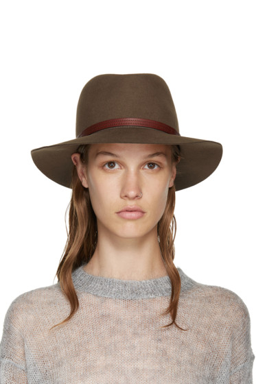 Rag & Bone - Brown Felted Wool Fedora