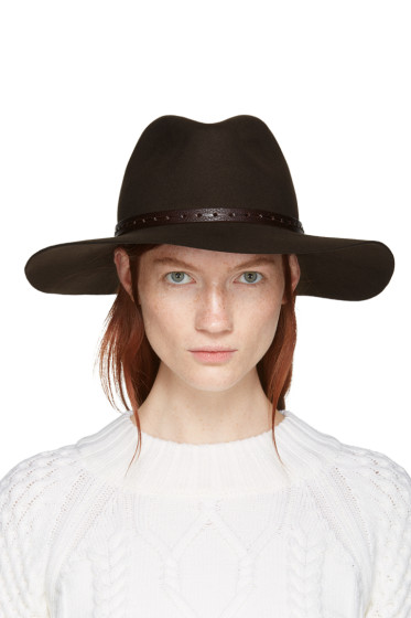 Rag & Bone - Brown Wool Fedora