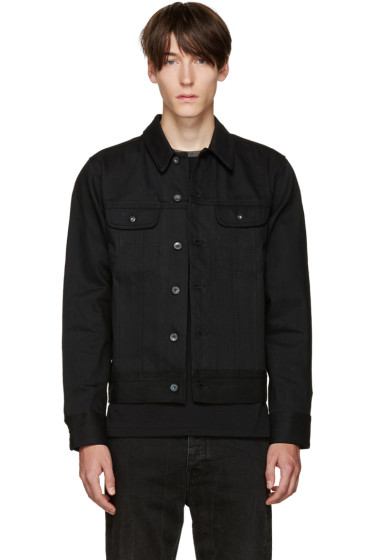 Rag & Bone - Black Selvedge Denim Jacket