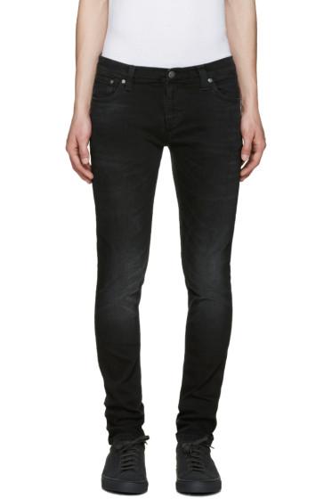 Nudie Jeans - Black Long John Jeans