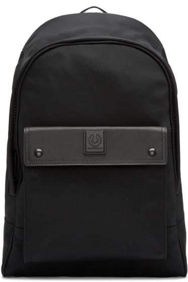 Belstaff - Black Roadmaster Backpack
