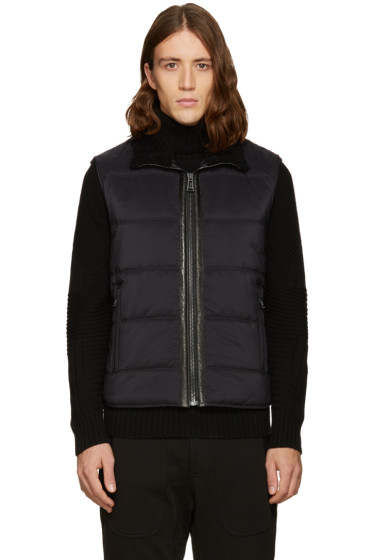 Belstaff - Black Nylon Fyfield Vest