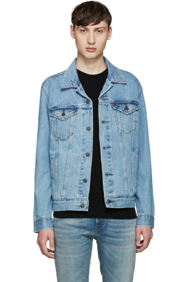Levi's - Blue Denim Trucker Jacket
