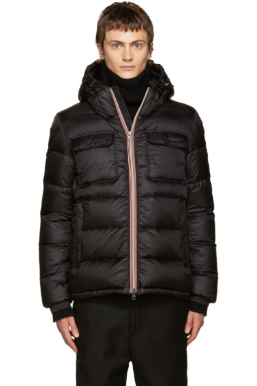 Moncler - Black Down Morane Jacket
